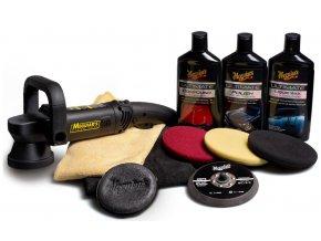 Meguiar's DA Ultimate Kit 5 kompletní 5palcová sada pro strojní renovaci, leštění a voskování laku