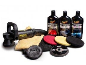 Meguiar's DA Ultimate Kit 6 kompletní 6palcová sada pro strojní renovaci, leštění a voskování laku