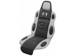 Potah sedadla RACE černo-šedý