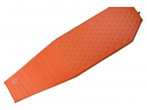 Karimatka samonafukovací 183x51x3cm oranžová