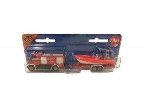 hasiči s člunem