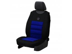 Ergonomický potah na 1 sedadlo ERGONOMIC, modrý