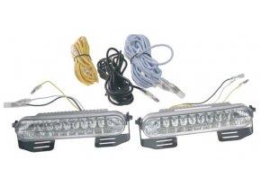 LED světla pro denní svícení 120x24mm