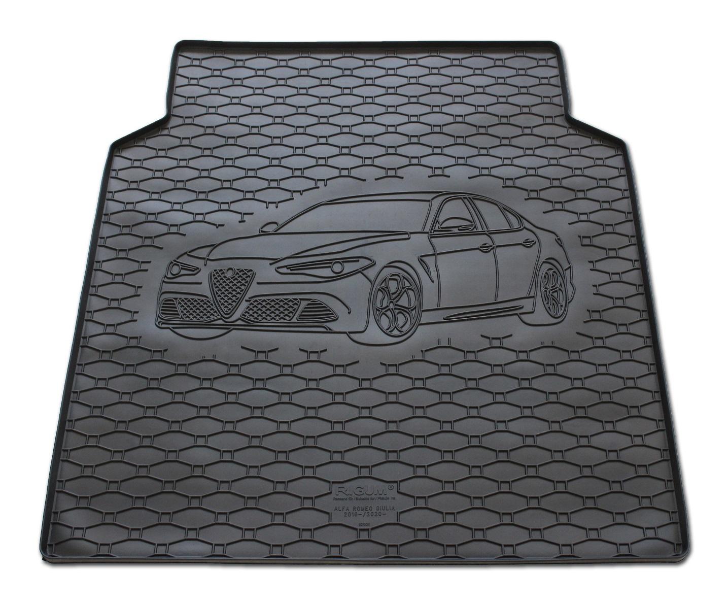 Vana do kufru gumová RIGUM Alfa Romeo Giulia 2016-