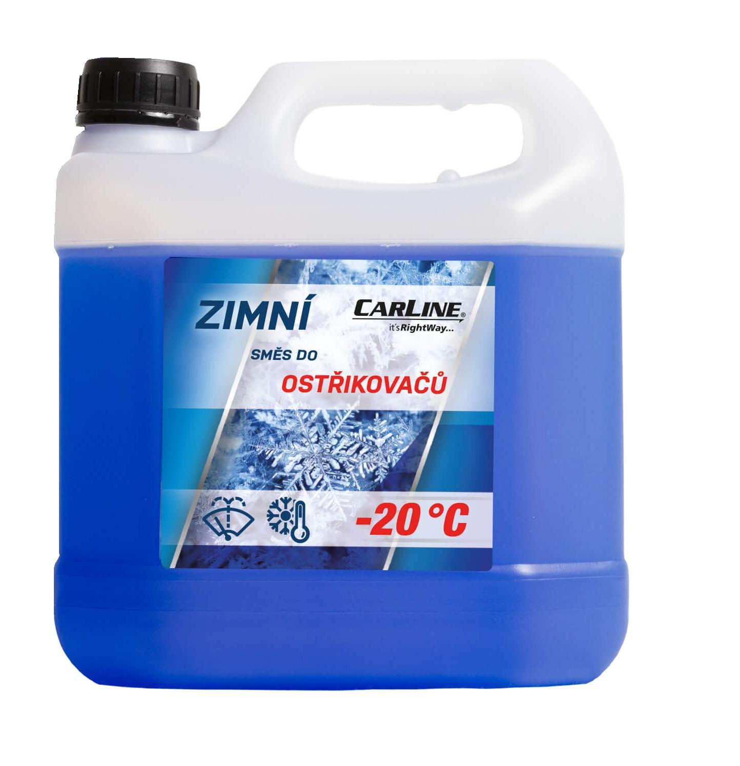 Nemrznoucí směs do ostřikovačů Cleanfox -20°C 3L
