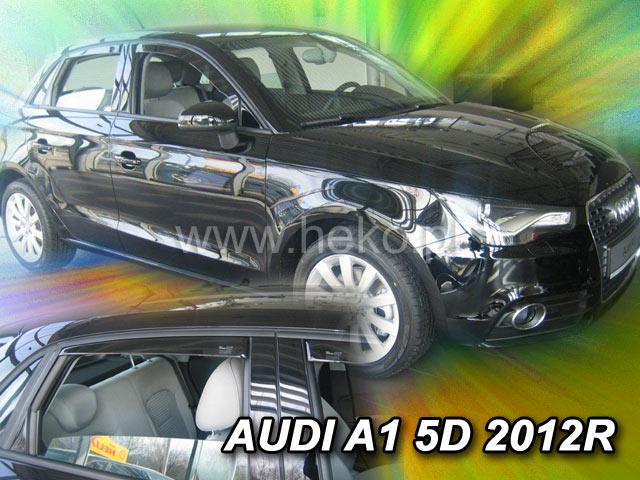 Ofuky oken Heko Audi A1 2012- přední + zadní