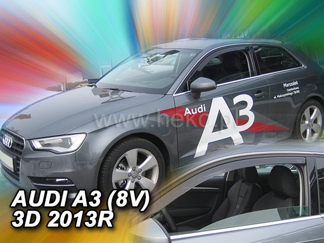 Ofuky oken Heko Audi A3 Sportback 3D 2013- přední