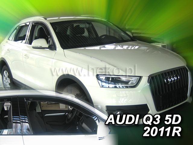 Ofuky oken Heko Audi Q3 5D 2011- přední