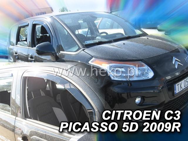 Ofuky oken Heko Citroen C3 Picasso 5D 2009- přední