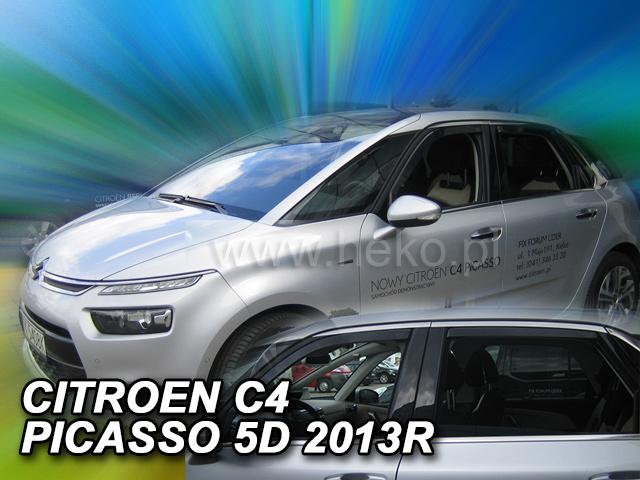 Ofuky oken Heko Citroen C4 Picasso 5D 2013- přední + zadní
