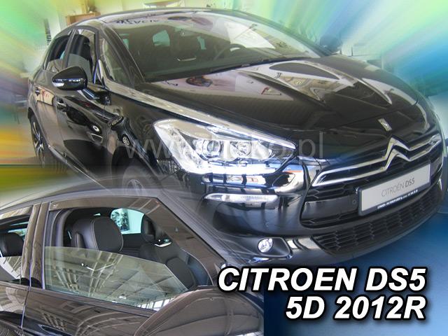 Ofuky oken Heko Citroen DS5 5D 2012- přední + zadní