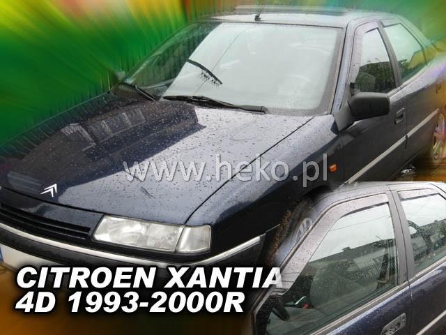 Ofuky oken Heko Citroen Xantia 4D 1993-2000 přední + zadní sedan