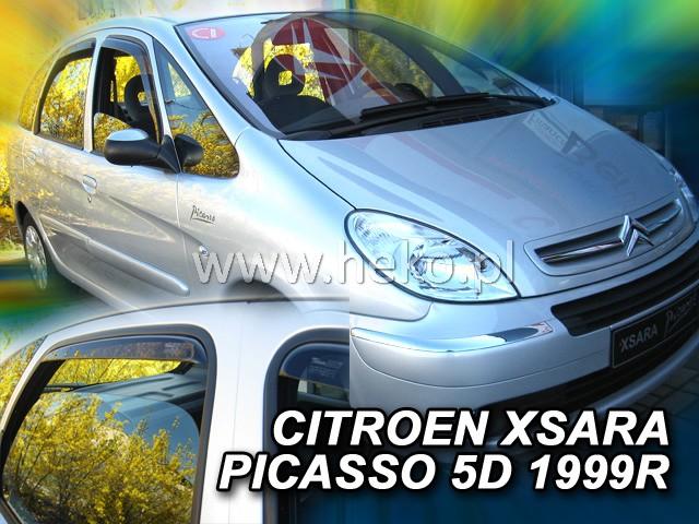 Ofuky oken Heko Citroen Xsara Picasso 5D 1999- přední + zadní