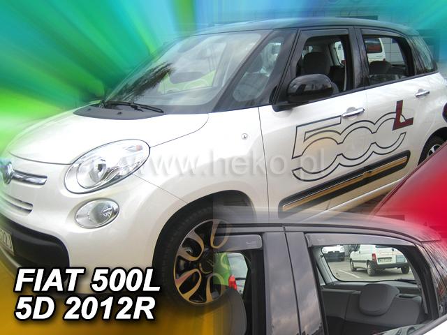 Ofuky oken Heko Fiat 500L 5D 2012- přední + zadní