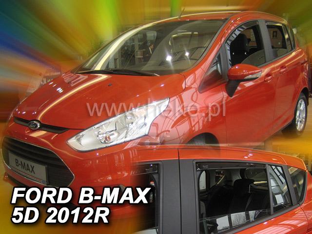 Ofuky oken Heko Ford B-Max 5D 2012- přední +zadní