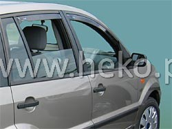 Ofuky oken Heko Ford Fusion 5D 2003- přední + zadní