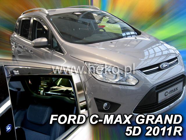 Ofuky oken Heko Ford Grand C-Max 5D 2011- přední + zadní