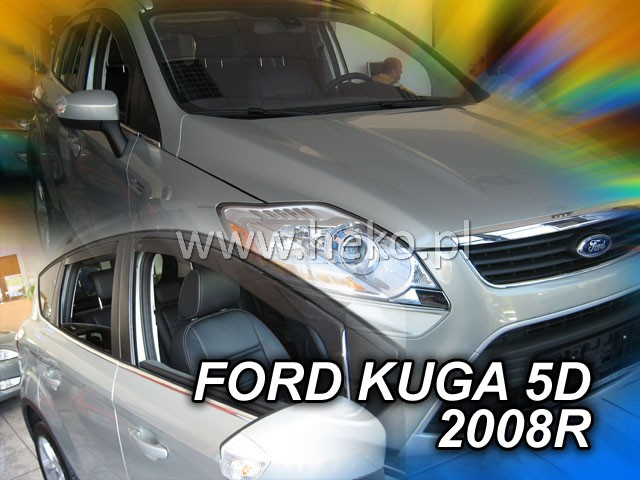 Ofuky oken Heko Ford Kuga 5D 2008- přední + zadní