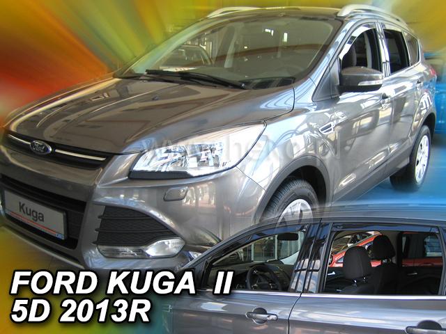 Ofuky oken Heko Ford Kuga 5D 2013- přední + zadní