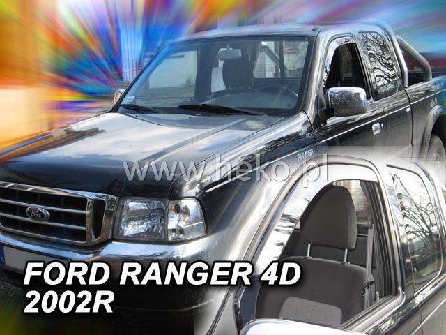 Ofuky oken Heko Ford Ranger 4D 2002-2007 přední