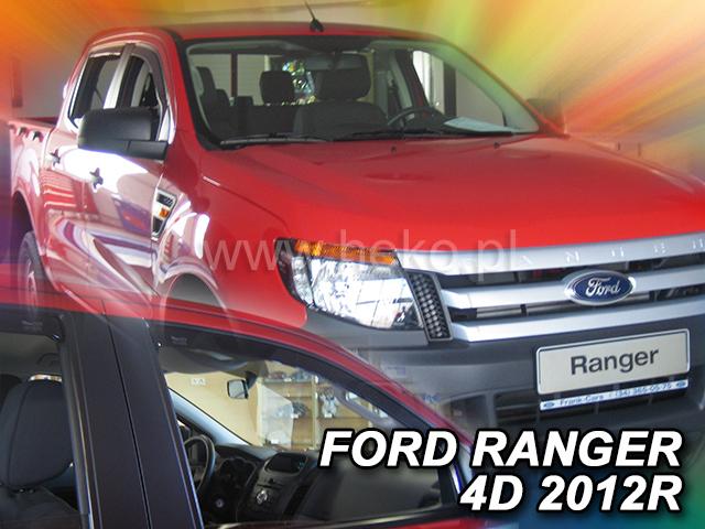 Ofuky oken Heko Ford Ranger 4D 2012- přední