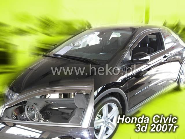 Ofuky oken Heko Honda Civic 3D 2007- přední