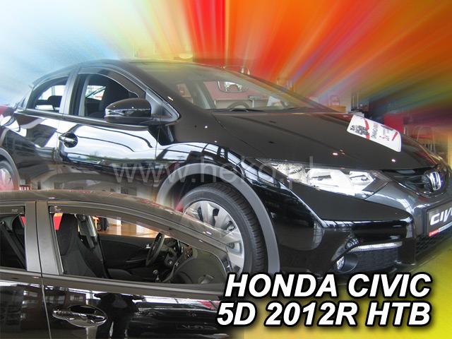 Ofuky oken Heko Honda Civic 5D 2012- přední