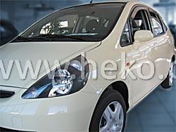 Ofuky oken Heko Honda Jazz 5D 2001- přední + zadní