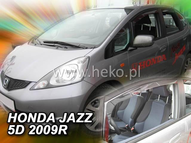 Ofuky oken Heko Honda Jazz 5D 2009- přední