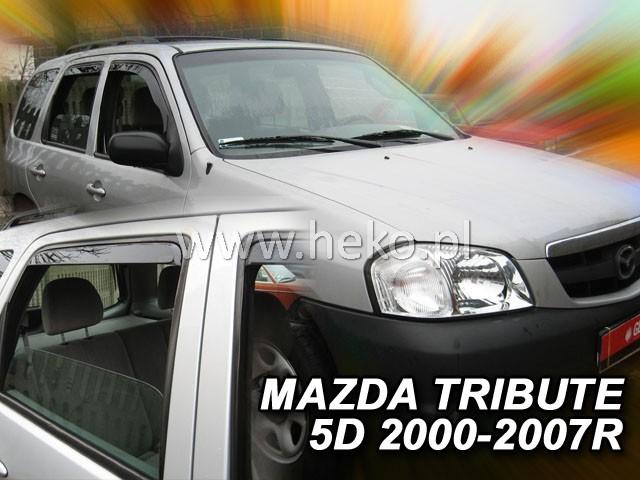 Ofuky oken Heko Honda Jazz 5D 2009- přední + zadní