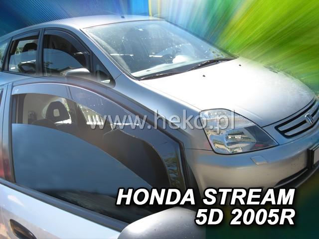 Ofuky oken Heko Honda Stream 5D 2000-2007 přední
