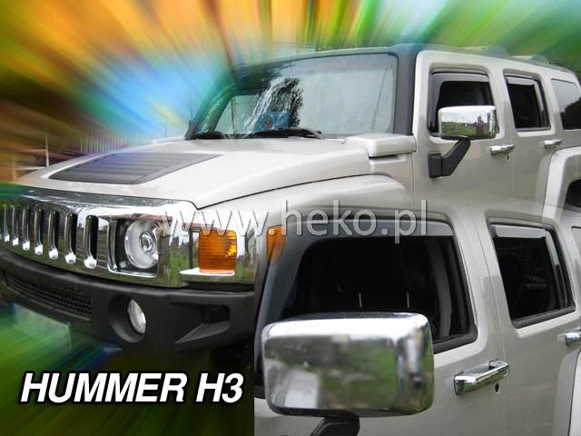 Ofuky oken Heko Hummer H3 5D přední + zadní