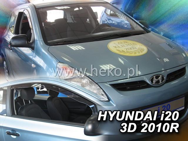 Ofuky oken Heko Hyundai i20 3D 2010- přední