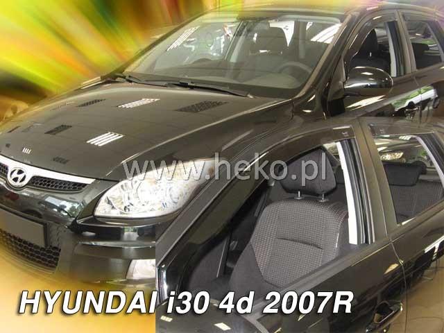 Ofuky oken Heko Hyundai i30 5D 2007- přední + zadní