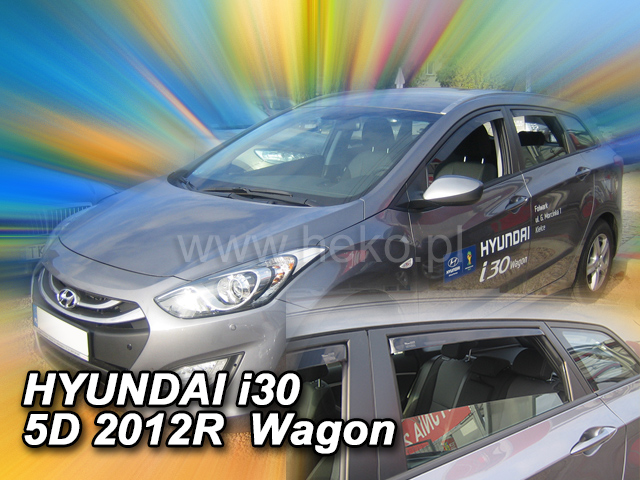 Ofuky oken Heko Hyundai i30 5D 2012- přední + zadní combi