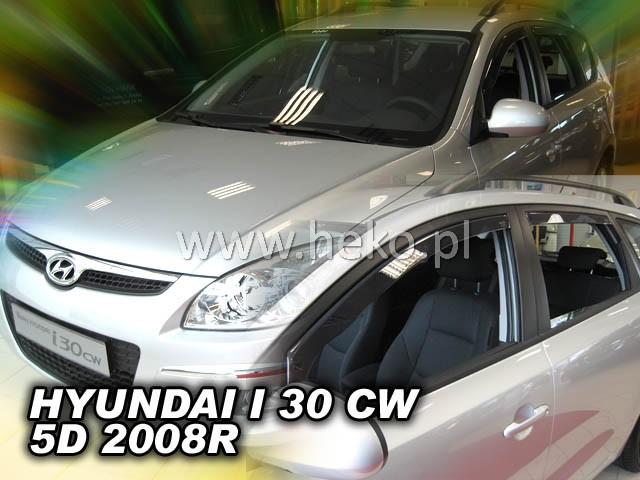 Ofuky oken Heko Hyundai i30 CW 5D 2008- přední + zadní combi