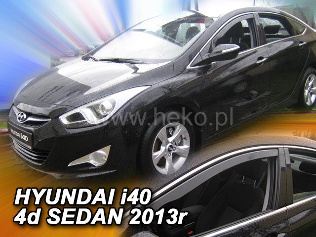 Ofuky oken Heko Hyundai i40 2011- přední