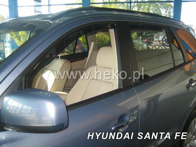 Ofuky oken Heko Hyundai Santa Fe 5D 2000- přední + zadní