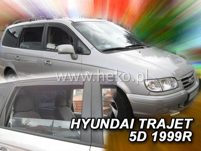 Ofuky oken Heko Hyundai Trajet 1999-2007 přední + zadní