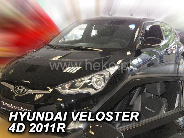 Ofuky oken Heko Hyundai Veloster 4D 2011- přední