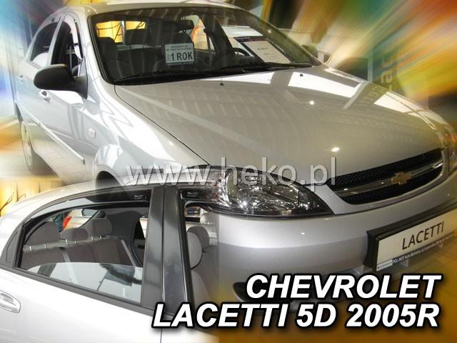 Ofuky oken Heko Chevrolet Lacetti 5D 2004- přední + zadní Htb
