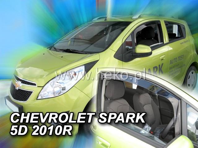 Ofuky oken Heko Chevrolet Spark 5D 2010- přední
