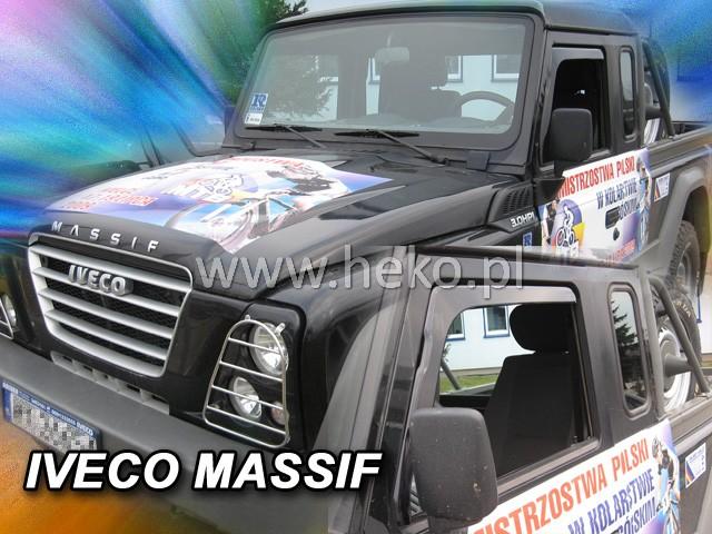 Ofuky oken Heko Iveco Massif 2D 2007-2011 přední
