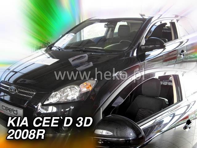 Ofuky oken Heko Kia Ceed 3D 2008- přední