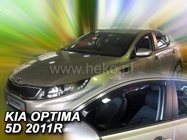 Ofuky oken Heko Kia Optima 5D 2011- přední
