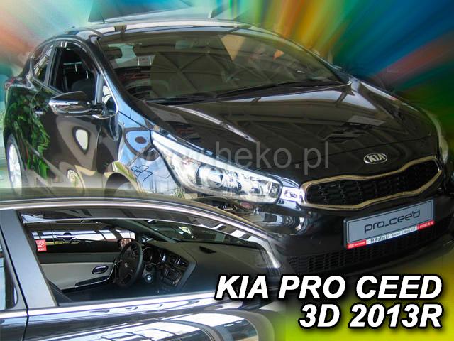 Ofuky oken Heko Kia Pro ceed 3D 2013- přední