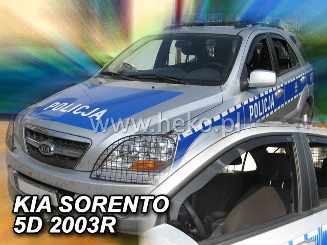 Ofuky oken Heko Kia Sorento 5D 2002- přední