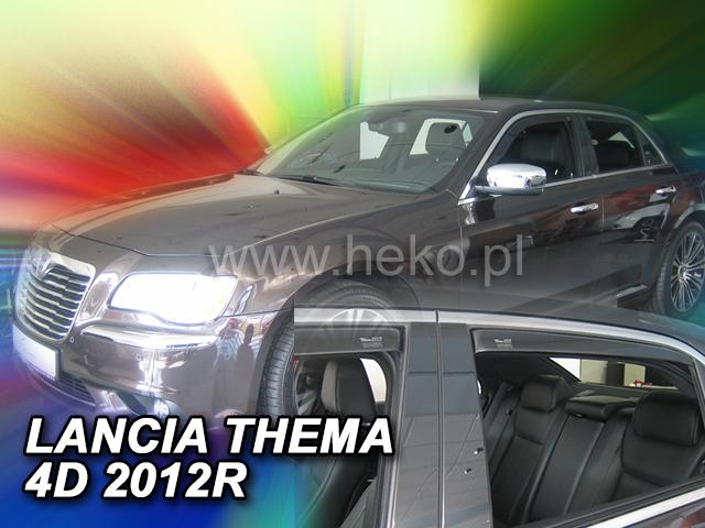 Ofuky oken Heko Lancia Thema 4D 2012- přední + zadní