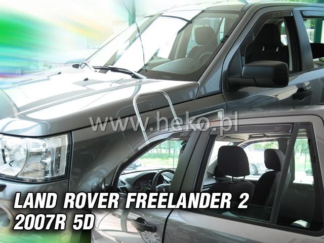 Ofuky oken Heko Land Rover Freelander II 2007- přední + zadní