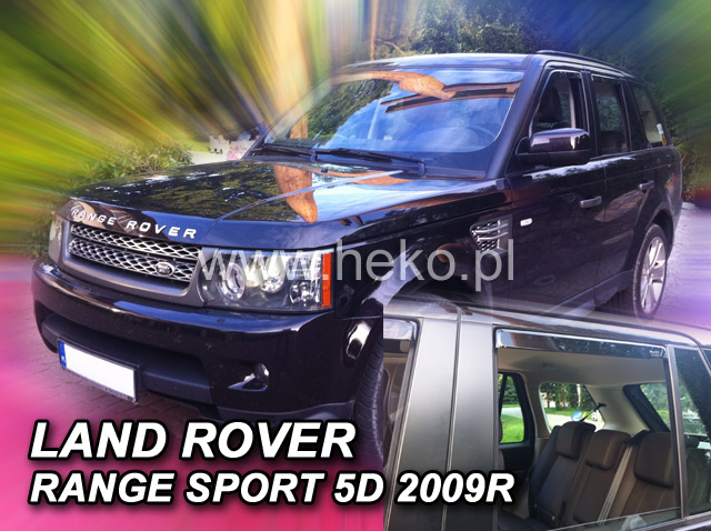 Ofuky oken Heko Land Rover Range Rover Sport 5D 2005- přední + zadní